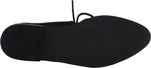 25 Noir Femme Shoe Chaussures Bianco Open Laced 49109 à Lacets Black qUxBPgO7