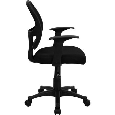 Comfortable Mesh Back Executive Computer Desk Chair, A Modern Home and Office Furniture featuring Locking Tilt, Full Swivel, and Adjustable Height in Ergonomic Design (24.00 x 21.00 x 39.00 Inches)