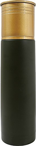 Grand Star - 16.91-Oz. Shotgun Shell Insulated Beverage Container - Green/Gold