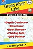 Green River Lake Fishing Map (Kentucky Fishing Map Series, L445)