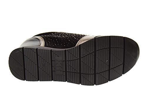 Sneakers 48513 Scarpe Con Zeppa Nero Xti La Donna qERdP