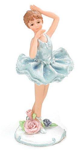 Set of 3 Ballerina Girl Figurines Sweet Poses Ballet ()