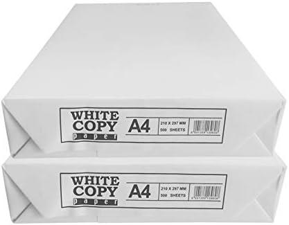 500 fogli DIN A4, 80/G//m2 colore bianco Office Partner/ 01 bianco /carta universale