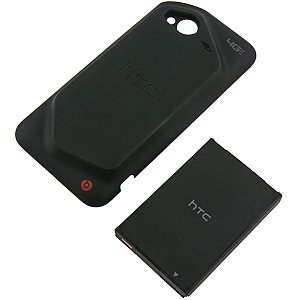 OEM HTC Extended Battery w/ Battery Cover for HTC DROID Incredible 4G LTE BTE6410B (Battery Rubberized Door)