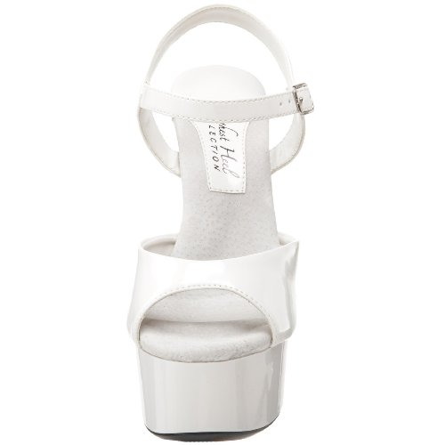 Platform Sandal Highest Women's Patent White The Sabrina Heel pwFUxAqg