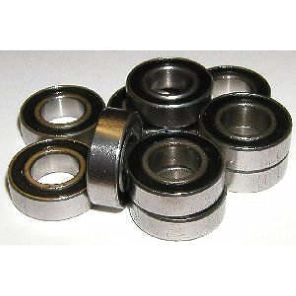 """R 3 Bearing 3//16/""""x 1//2/""""x 0.1562/""""Open inch Ball Bearings"""