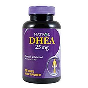 Dhea 25Mg By Natrol - 300 Tab, 2 Pack