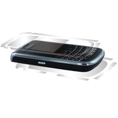 BodyGuardZ Protective Skin for BlackBerry Tour 9630 - Retail Packaging - Clear