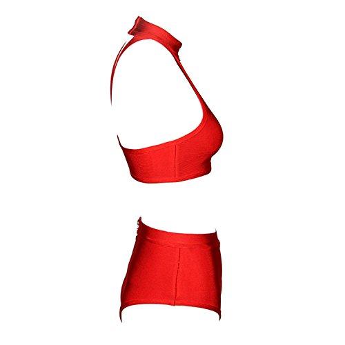 CIEMIILI - Conjunto - para mujer Rosso