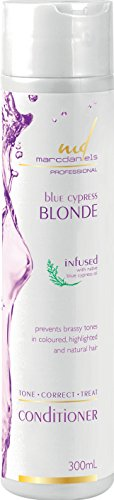 Formidable Purple Toning and Deep Moisturizing Conditioner. Neutralize Unwanted Brassy Yellow Orange Tones in Blonde, Color Treated, & Gray Braids by MARC DANIELS Professional