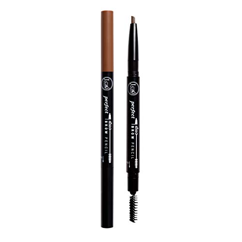 2 Pack J. Cat Brow Duo Pencil 108 Light Brown