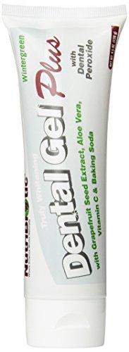 Nutribiotic Dentalgel Plus, Whitening, 4.5 Ounce