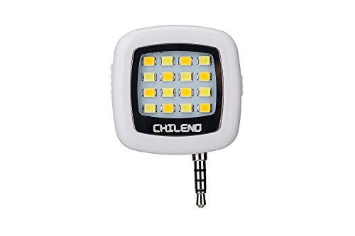 CHILENO Selfie Flash Cellphone Light Portable Fill Led Flash For Cell Phone Better Experience for Selfie! by CHILENO