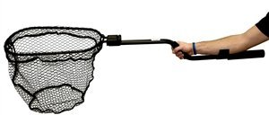 Yak Attack Leverage Landing Net, 12'' X 20'' hoop, 47'' long, with extension and foam for storing in rod holder by Yak Attack