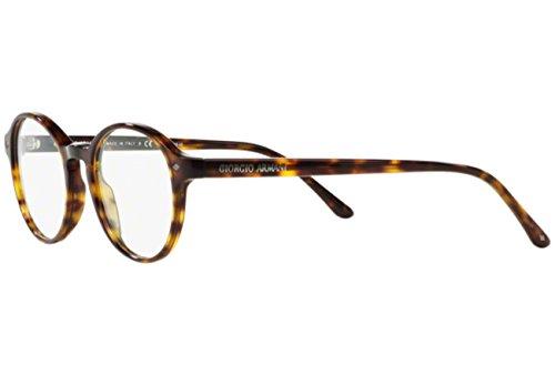 Giorgio Armani Montures de lunettes 7004 Pour Homme Matte Black, 47mm 5026: Dark Tortoise