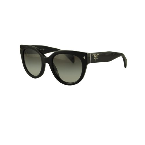 Prada PR17OS Cat Eye Women's, Black Frame, Grey Gradient 54mm
