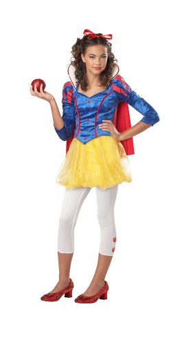 (California Costumes Sassy Snow White Tween Costume,)