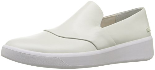 Lacoste Women's Rochelle Slip 316 1 Caw Fashion Sneaker, Off White, 7 M US