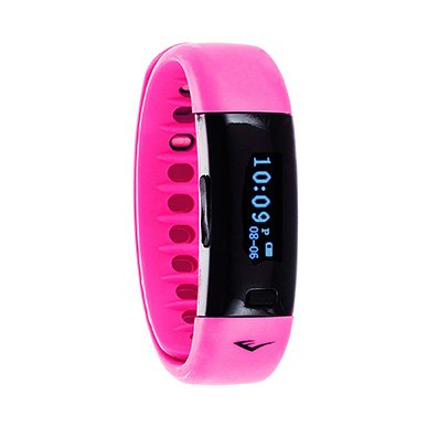 Everlast TR5 - Wireless Fitness Activity Tracker + Sleep Wristband With LED Display - Pink