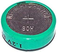 80H 1.2 Volt NiMH Button Battery (3)