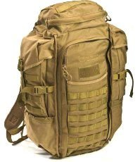 Eberlestock HalfTrack Military Pack w/Tunnel Pockets & D-Rings, Coyote Brown F3MC