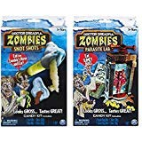 Dr. Dreadful Zombie Lab Snot Shots and Parasite Bug Lab Playsets -