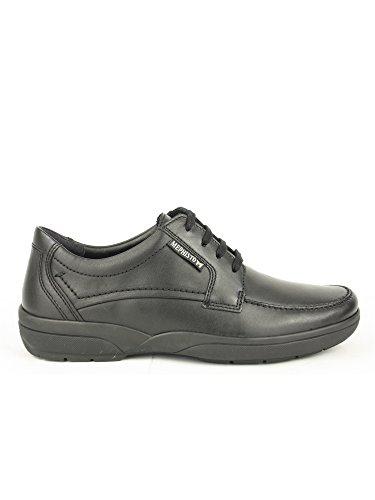 Mephisto-Chaussure Lacet-AGAZIO Noir cuir 3800-Homme-40 FR 6,5 EU