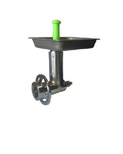 Uniworld Stainless Steel Grinder Attachment for #22 Hub, Comes with Pan, Stomper, 1/4
