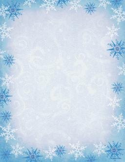 amazon com christmas snowflake stationery 8 5 x 11 100 ct