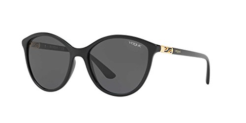 Ray-Ban Women's Plastic Woman Cateye Sunglasses, Black, 55 - Eye Cat Sunglasses Ray Bans