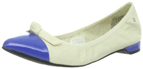 Rockport Mujeres Ashika Knot Tie Ballet Plano Mar Azul / Crema