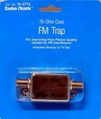 Radio Shack FM TRAP 75-Ohm Coax RS-15-577B or RS-15-577C