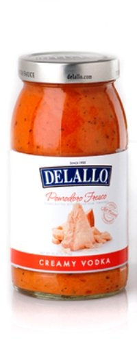 DeLallo Pomodoro Fresco Sauce, Creamy Vodka, 25.25 Ounce (Pack of 6) (Creamy Vodka Sauce)