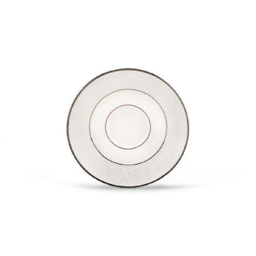 Lenox Opal Innocence Platinum Banded Bone China Saucer