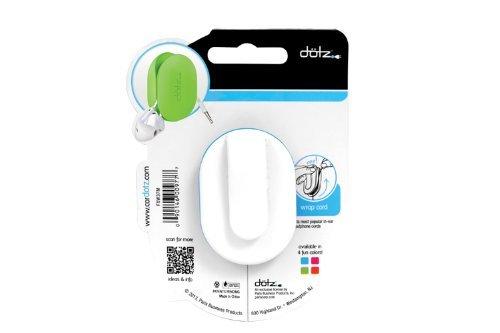 Office 4 All Dotz FXW37MCC Flex Earbud Wrap, Cyan
