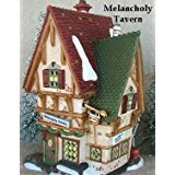 """Department 56 """"The Melancholy Tavern"""" The Christmas Carol Revised"""" Retired"""