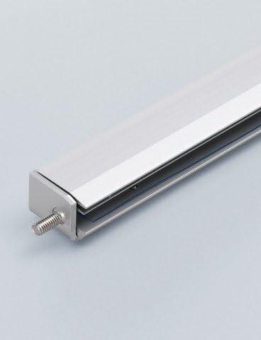【スガツネ工業】ユニットシェルフ Bタイプ部品 XL-US01-W900L-B ガラス棚金物縦フレーム取付側LED仕様ブルー(B) 1本