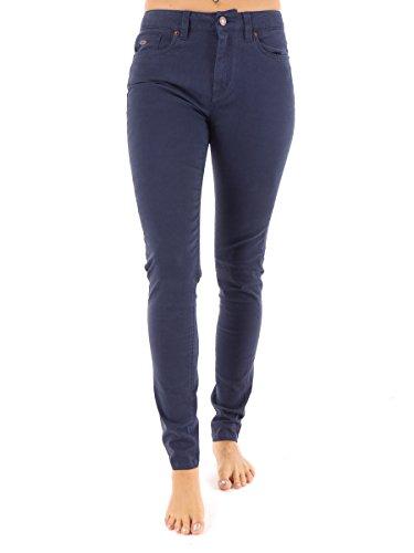 O'Neill Hose lange Hose Stoffhose High Rise Skinny blau 5-Pocket