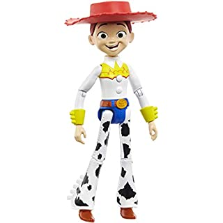 Disney Pixar Toy Story 4 True Talkers Jessie Figure, 8.8 in Tall Posable, Talking Character Figure with Movie-Inspired Cowgirl Look and 15+ Phrases, Gift for Kids 3 Years and Older