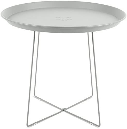 Fatboy USA PLAT-LGRY Side Table, Light Grey
