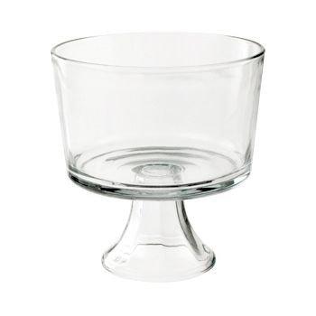 - Anchor Hocking 77898 Large Trifle/Fruit Bowl, Glass
