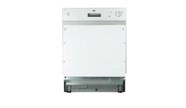 OK ODW 600-BI Semi-incorporado 12cubiertos A+ lavavajilla ...