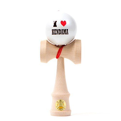 Ozora - I Heart Kendama - White Ball [並行輸入品] B074SGD7C7