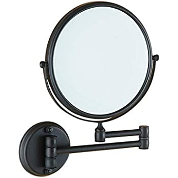 Amazon Com Wall Mounted Makeup Mirror,8 Inch Bathroom