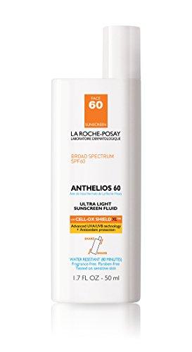 La Roche-Posay Anthelios 60 Ultra Light Facial Sunscreen SPF 60 with Antioxidants 1.7 Fl. Oz.