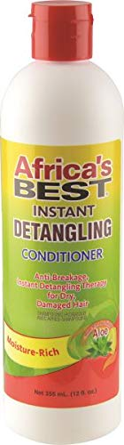 - Africa's Best Instant Detangling Conditioner, 12 Ounce