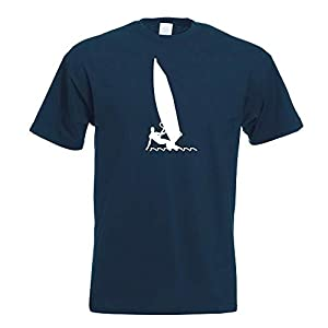 Atleta di Vela di Windsurf T-Shirt Stampa Design Motivo Stampato 1 spesavip