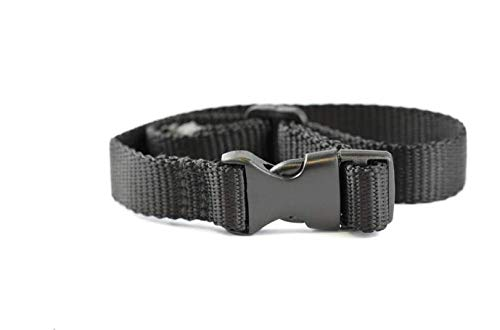 Naturepets Bark Collar Extra Strap Replacement Strap Nylon Belt for All Vibrating and Static Shock Anti Bark Training Collars for Dogs (Replacement Collar Only) (1 Collar) (Dog Band Collars)