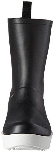 Colours of California Damen Rbnew02-f17 Gummistiefel Schwarz (Black)