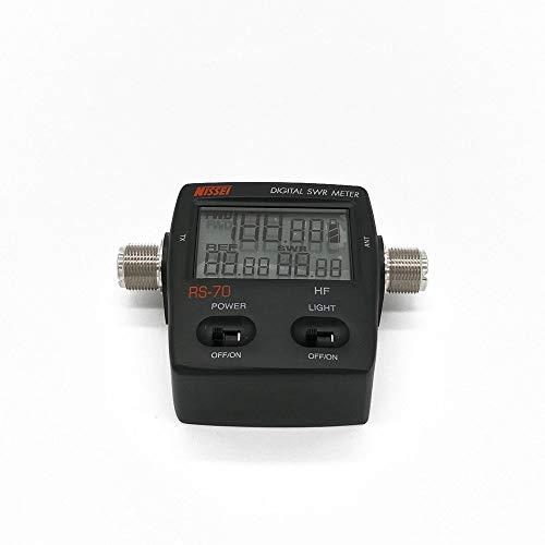 Youmei RS-70 Digital SWR/Watt Meter HF 1.6-60MHz 200W for Two-Way Radio